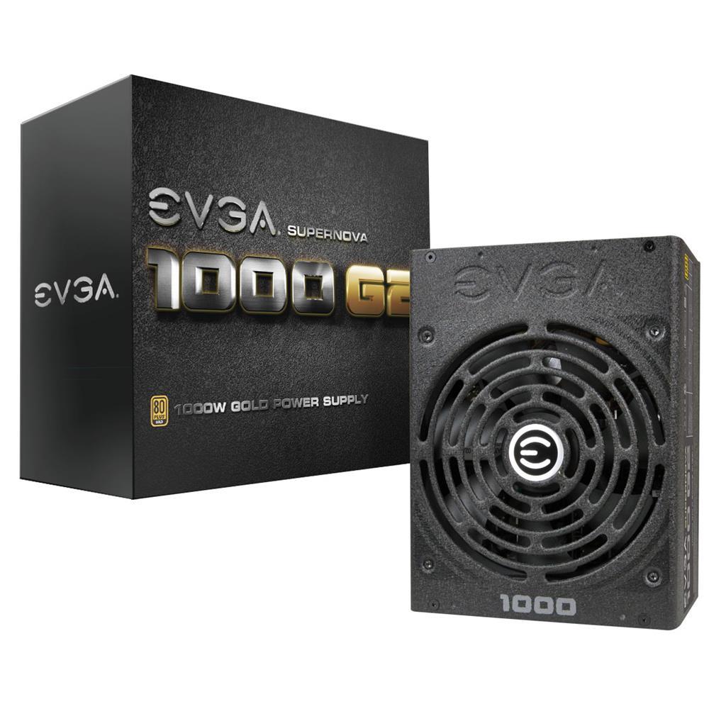 EVGA PSU SuperNOVA 1000 G2 1000W, 80 PLUS Gold, Full modular
