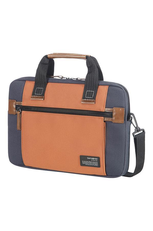 "Case SAMSONITE 22N11002 SIDEWAYS 13,3"" comp, pock, topload., blue/orange"