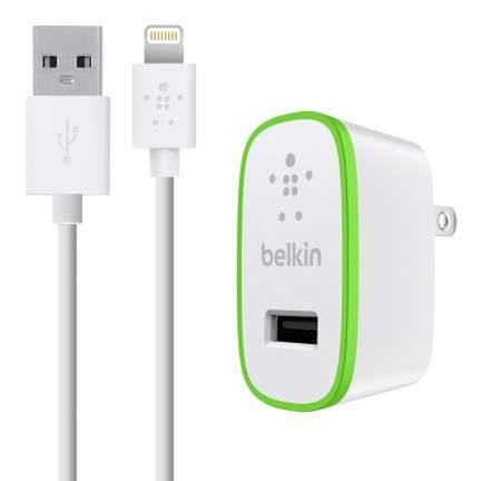 Belkin USB 230V micro nabíječka, 5V/2.4A vč. Lightning kabelu, bílá