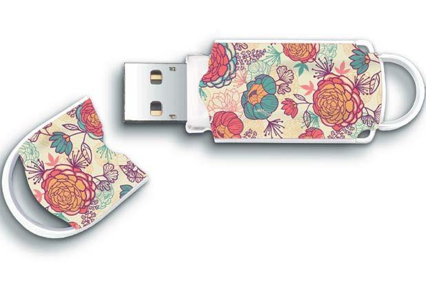 INTEGRAL Xpression Floral 8GB USB 2.0 flashdisk