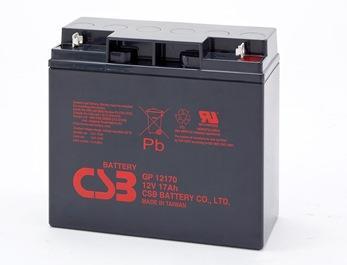 CSB kit 2 baterií GP12170 12V/17Ah
