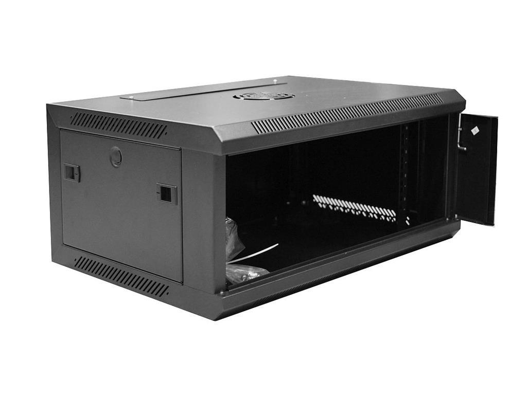 DIGITUS Nástěnný rozvaděč 19'' jednodílný 4U 600x450 RAL 9004
