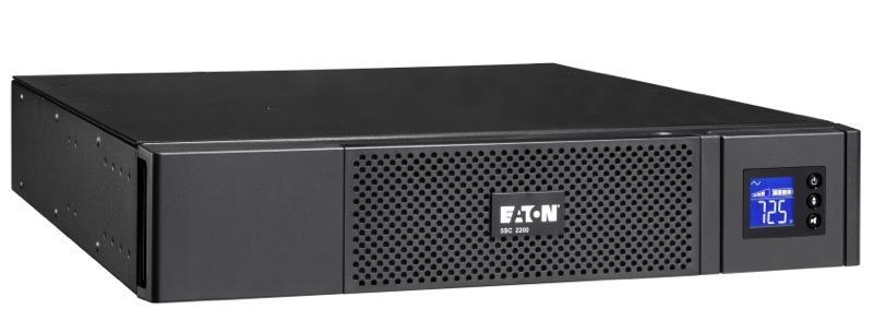 Eaton 5SC 1500i Rack 2U, UPS 1500VA / 1050W, 8 zásuvek IEC, LCD