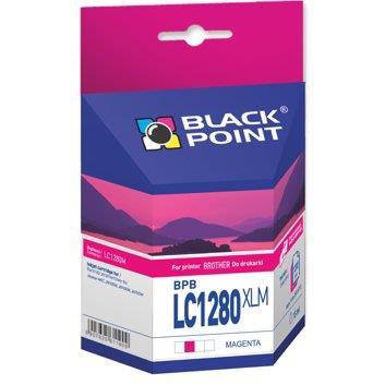 Ink cartridge Black Point BPBLC1280XLM | magenta | 15 ml | Brother LC1280M