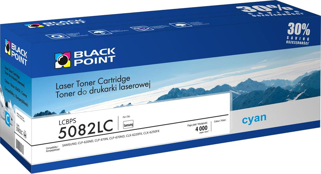Toner Black Point LCBPS5082LC | cyan | 4000 pp | Samsung CLT-C5082L