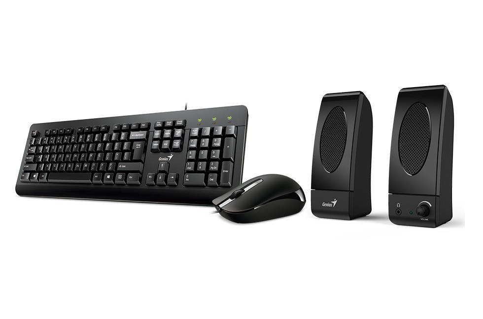 Genius KMS-U130 Combo Set (klávesnice+myš+reproduktor)