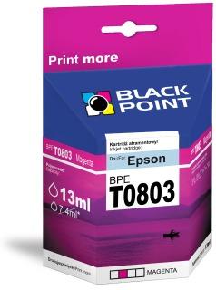 Ink Black Point BPET0803 | Magenta | chip | 13 ml | Epson T0803