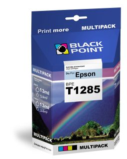 Ink Black Point BPET01285   CMYK   4*13 ml   Epson T01285