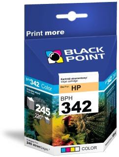 Ink Black Point BPH342 | Color | 10 ml | 245 p. | HP C9361