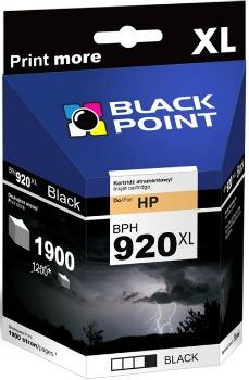 Ink Black Point BPH920XL   Black   49 ml   1900 p.   HP CD975AE