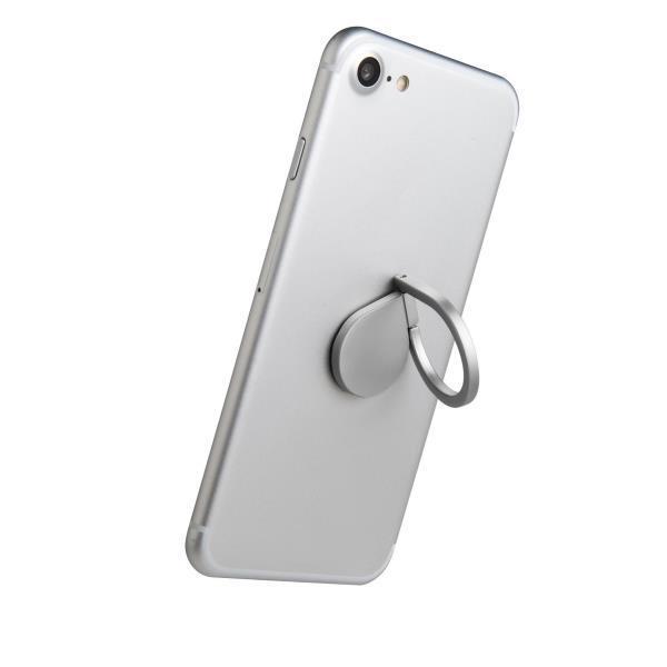Celly RING univerzální držák na telefon, stříbrný