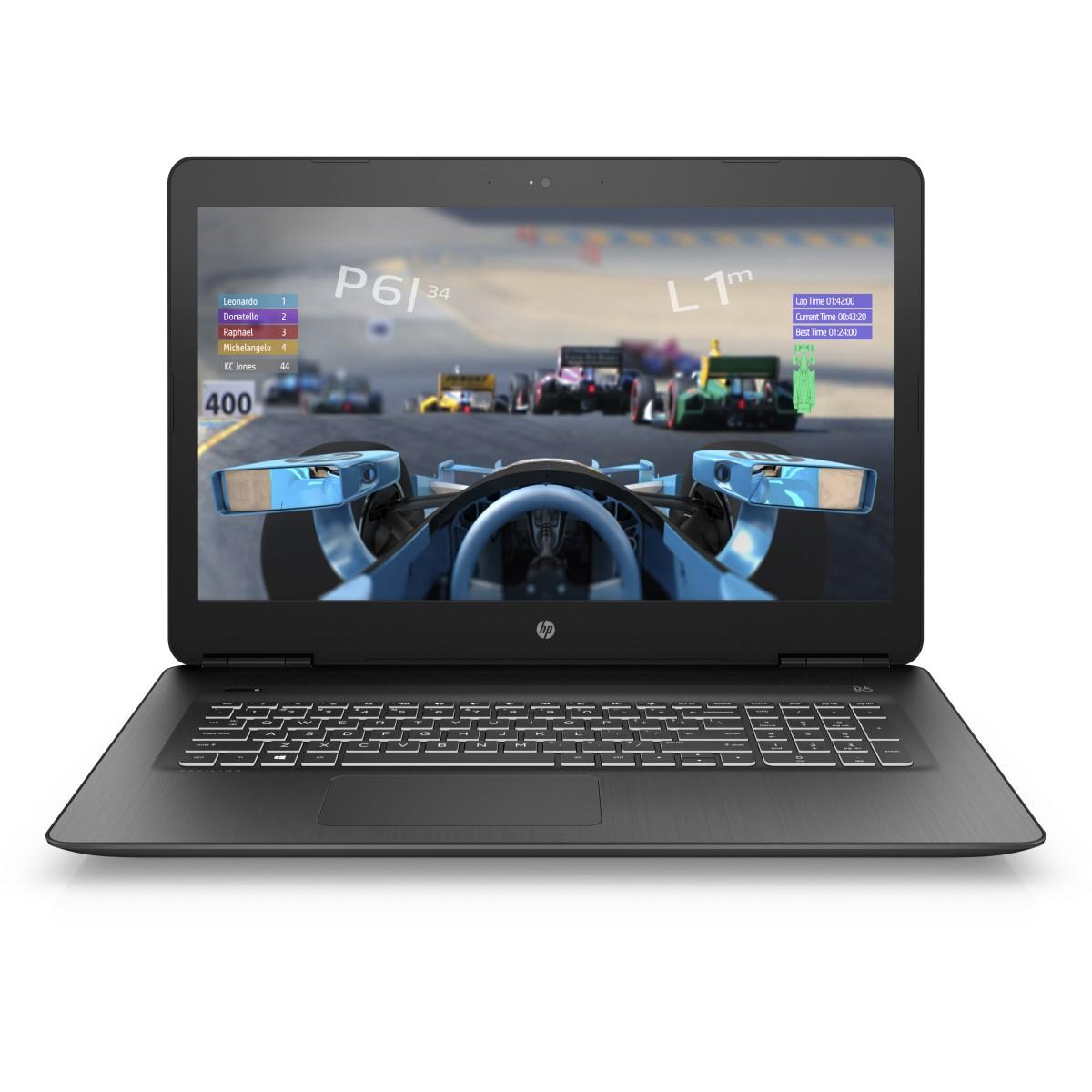HP Pavilion 17-ab305nc FHD i5-7300HQ/8GB/1TB+128SSD/NV/2RServis/DVD/W10-black