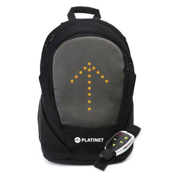 """PLATINET brašna na kolo na notebook 15,6"""" s LED, ovladačem a USB"""