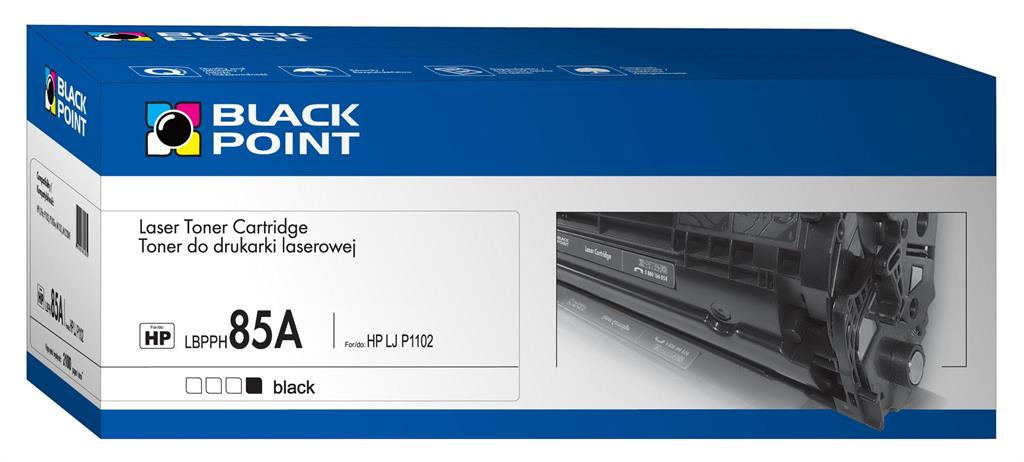 Toner Black Point LBPPH85A | Black | 2100 p. | HP CE285A | set 5 pcs