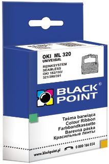 Ribbon Black Point KBPO320 | Black | Nylon | Universal | OKI 09002303