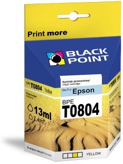 Ink Black Point BPET0804 | Yellow | chip | 13ml | Epson T0804