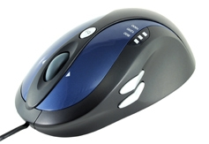 Modecom optická myš MC-907 (modro-černá)