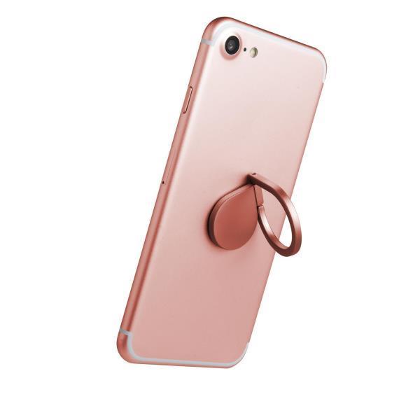 Celly RING univerzální držák na telefon, růžový