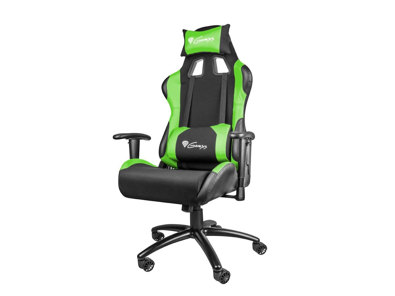 Herní křeslo Genesis Nitro 550 černo-zelené
