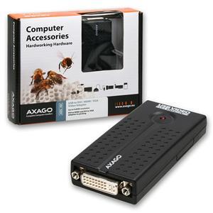 AXAGO - ADG-HD USB2.0 - DVI/HDMI/VGA adapter FullHD