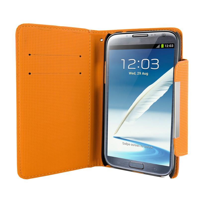 4World Ochranné pouzdro pro Galaxy Note 2, Style, 5.5'', červený