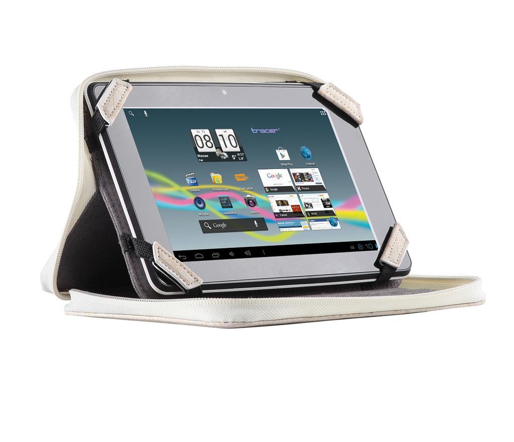 Tracer S8 pouzdro pro tablet 7'' béžové