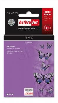 Ink ActiveJet AB-529BN | black | 58 ml | Brother LC529BK