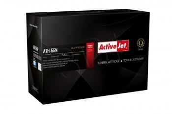 Toner ActiveJet ATH-55N | černý | 6000 str. | HP CE255A (55A), Canon CRG-724
