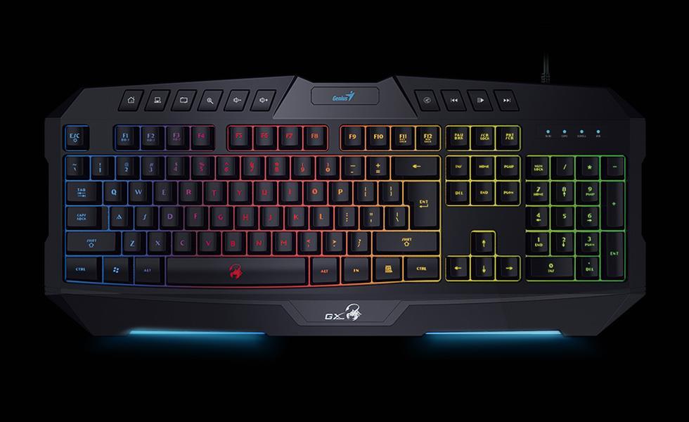 Genius Keyboard Scorpion K20, Black, US layout