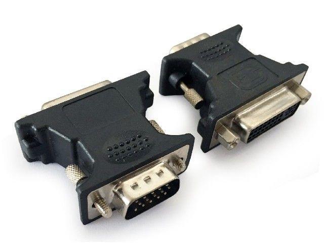 Gembird adaptér VGA(M) -> DVI-A(F), černý