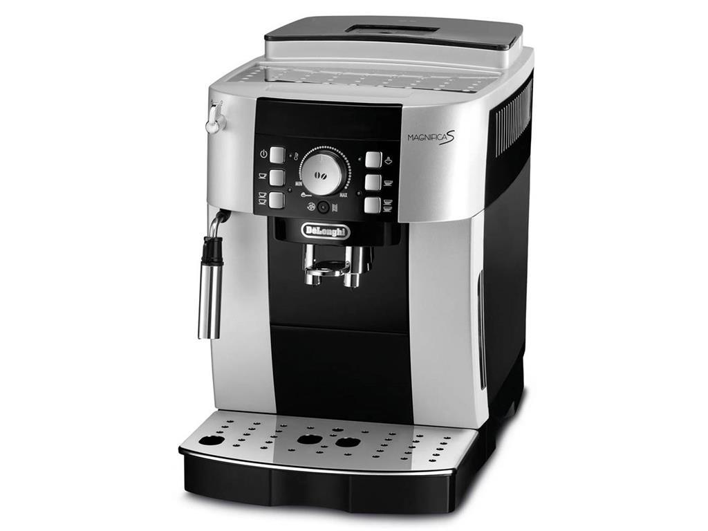 Kávovar Delonghi ECAM21.117SB | stříbrno-černý
