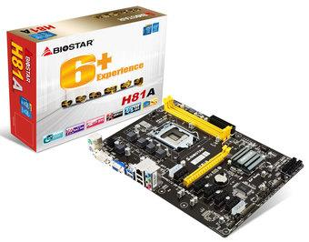 Biostar H81A, LGA1150, DDR3-1600, 2 x USB 3.0 Port