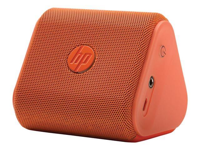 HP Roar Mini Wireless Bluetooth 2.5 Wat Speaker - Neon Orange