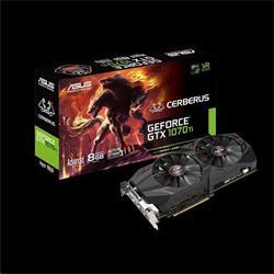 ASUS CERBERUS-GTX1070TI-A8G 8GB/256-bit, GDDR5, DVI, 2xHDMI, 2xDP