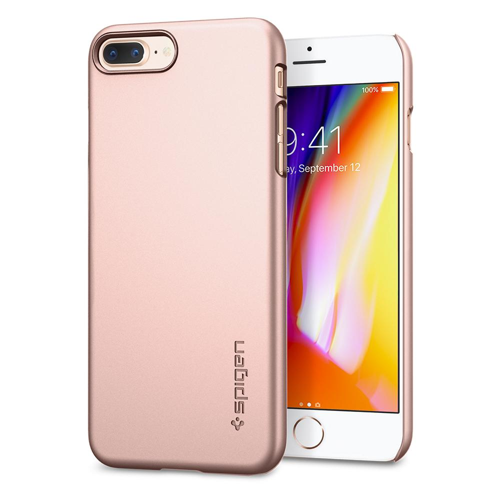 OCHRANNÝ KRYT (HARD) SPIGEN Thin Fit PRO APPLE IPHONE (7/8) PLUS - ROSE GOLD