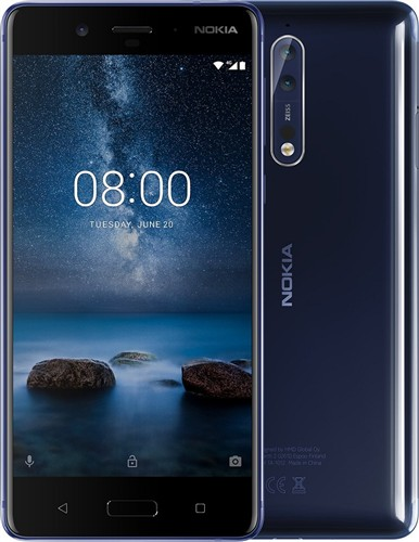 Nokia 8 Blue Glossy Dual SIM