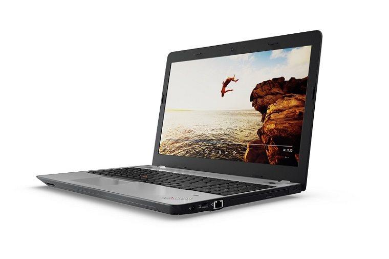 """Lenovo ThinkPad E570 i5-7200U/4GB/1TB-5400/DVD±RW/HD Graphics 620/15,6""""FHD matný/Win10PRO černo-stříbrný"""