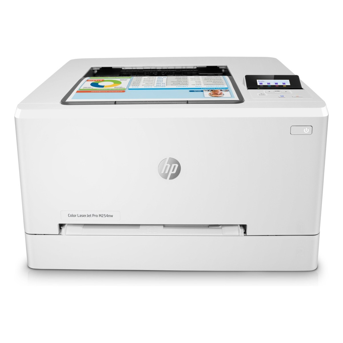 HP Color LaserJet Pro M254nw (A4,21/21 ppm, USB 2.0, Ethernet, Wifi)