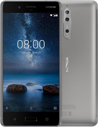Nokia 8 Silver Steel Dual SIM