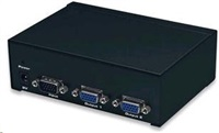 MANHATTAN VGA rozbočovač Professional - 2 porty (splitter, SVGA, MultiSync, 350MHz)