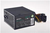 EUROCASE zdroj ECO+85 ATX-500WA-12-80(85), APFC, CE, CB, ErP2013, účinnost 85+