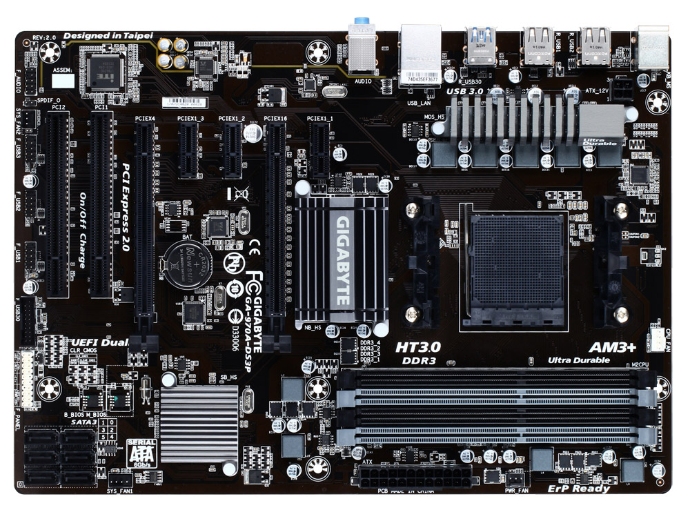 GIGABYTE 970A-DS3P (rev. 2.x)