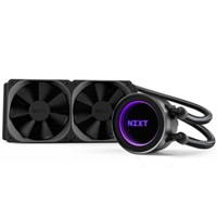 NZXT vodní chladič Kraken X52 / 2x 120mm fan / LGA 2011-3/1366/1156/1155/1150/FM2/FM1/AM3+/AM3/AM2+/AM2 / 6 let