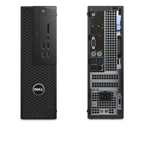 DELL Precision T3420 Xeon E3-1220 v5/16GB/256 SSD/2GB Quadro P600/DVD-RW/Win 7 + Win 10 Pro 64bit/3Yr PS NBD