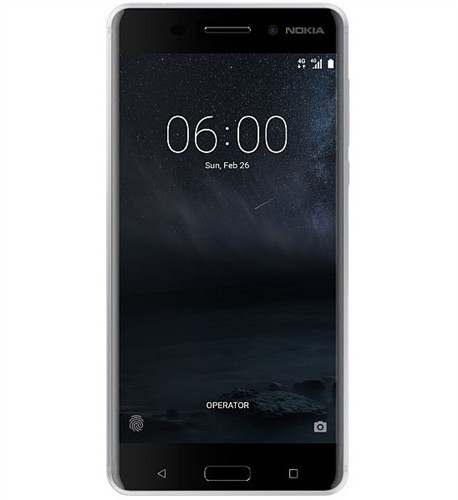 Nokia 6 White Silver Single SIM