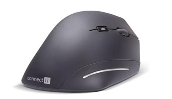 CONNECT IT FOR HEALTH ergonomická vertikální myš, bezdrátová, USB, 2,4Ghz