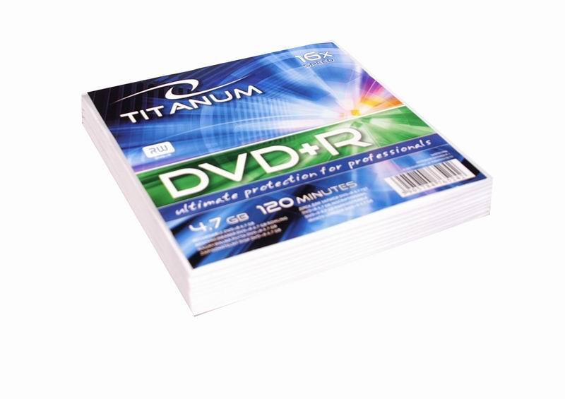 Titanum DVD+R [ obálka 10 | 4.7GB | 16x ]