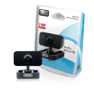 Sweex Webová kamera ViewPlus USB, 2MP