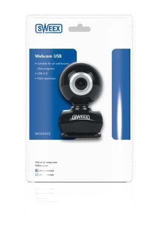 Sweex Webová kamera USB 2.0 VGA, černá