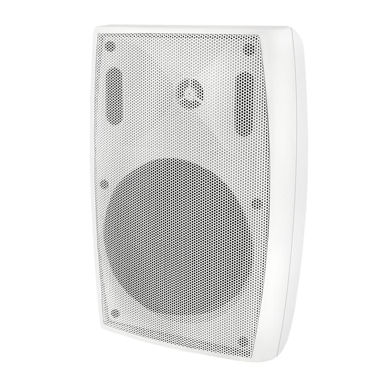 Qoltec SUPER BASS TWO WAY WALL SPEAKER| RMS 30W | 25cm | 8 Om | TRAFO | white